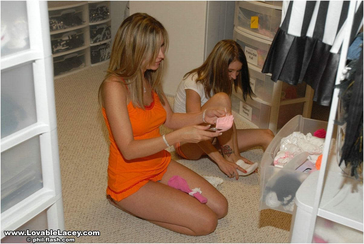 Cum See Lacey And Her Friend Get Wild! - Picture 5